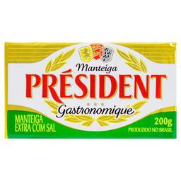 Manteiga com Sal Président - 200g