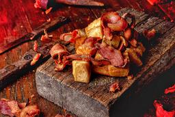 Mandioca com Bacon - 300g