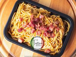 Macarrão Bacon Barbecue Escolha Seu Tamanho