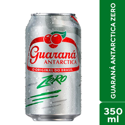 Guaraná Zero Antarctica 350ml