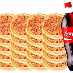 20 Carne + 1 Coca 2 Lt