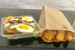 Salada Pasuri + Frango Crispy