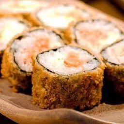 Sushi Hot Salmão com Camarão - 12 Cortes