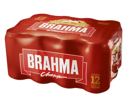 Pack de Brahma Lata 350ml