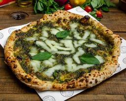 Pizza Pesto e Formaggi (v)