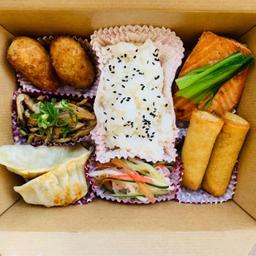 Bento box salmão