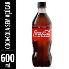Coca Cola sem Açúcar 600 ml