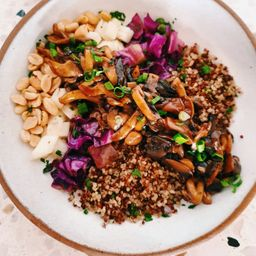 Mix de Cogumelos Teriyaki (vegano)