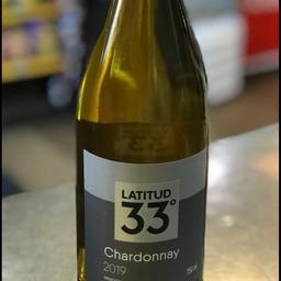 Latitud 33 Chardonnay 2019  750ml