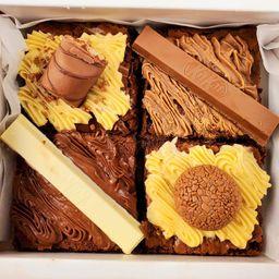 Brownie Gourmet - Caixa com 4 Unidades