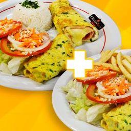 Combo Double Omelete