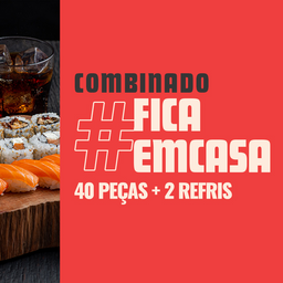 Combo #FicaemCasa
