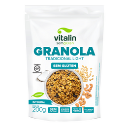 Granola Tradicional Light - 200g