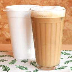 Café com Leite Vegetal (iced Latte)