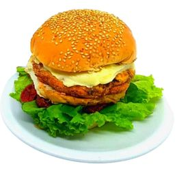 Vegetariano com fritas