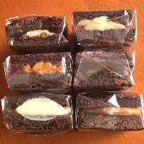 Brownie Recheado de Ninho