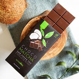 Choco Matcha 70% Cacau Barra - 80g