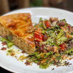 Salada Muza + Torta