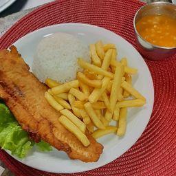 Peixe Milanesa