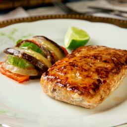 Hambúrguer de Salmão e Ratatouille 250g
