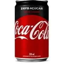 Coca-Cola sem Açúcar Lata 220ml