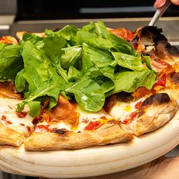 Pizza de Parma e Rúcula - Média