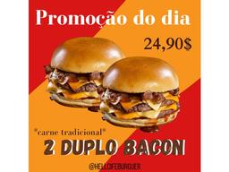 Combo Duplo Bacon