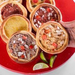 8 Eat'sfihas Tradicionais + Refri 250ml Grátis