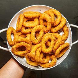 Anéis de Cebola Frita Porção