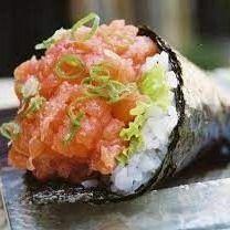 Temaki Salmão Spicy I (wasabi)