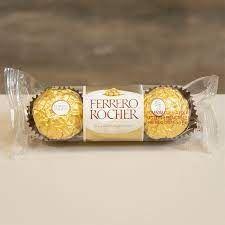 Ferrero Rocher com 3