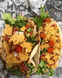 Taco vegetariano - 2 unidades