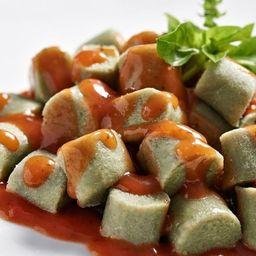 Gnocchi de batata doce