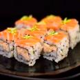 Uramaki Salmão Fresh - 4 Unidades