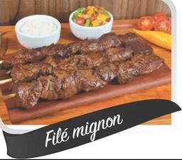 Espetinho de carne (filet mignon)