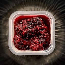 Panna Cotta com Frutas Vermelhas