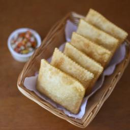 Porção pastel - 6 unidades