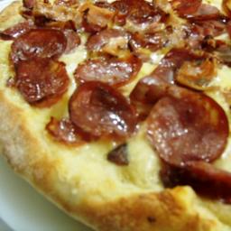 Pizza de Bacon com Mussarela - Broto