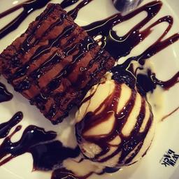 Brownie & Ice