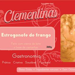 Estrogonofe de Frango Low Carb