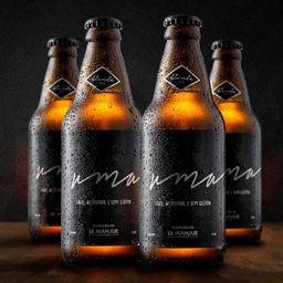 Pack 6 cervejas uma - 310ml