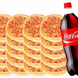 20 Esfihas de Carne + 1 Coca 2 Litros
