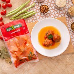 Almondegas de Carne ao Molho de Tomate