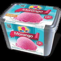 Pote de Sorvete Morango 1,5L