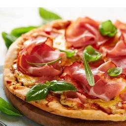 Pizza de Presunto di Parma