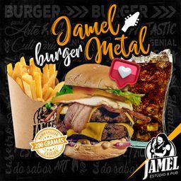 Combo Coca + Jamel Buger Metal