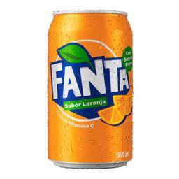 Fanta laranja lata 350ml