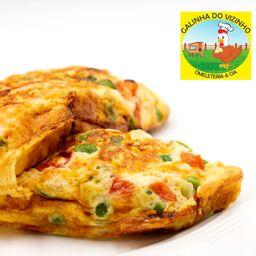Omelete Atum e Muçarela