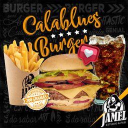 Combo Calablues Burger e Bebida