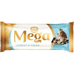 Picolé Mega Cookies & Cream